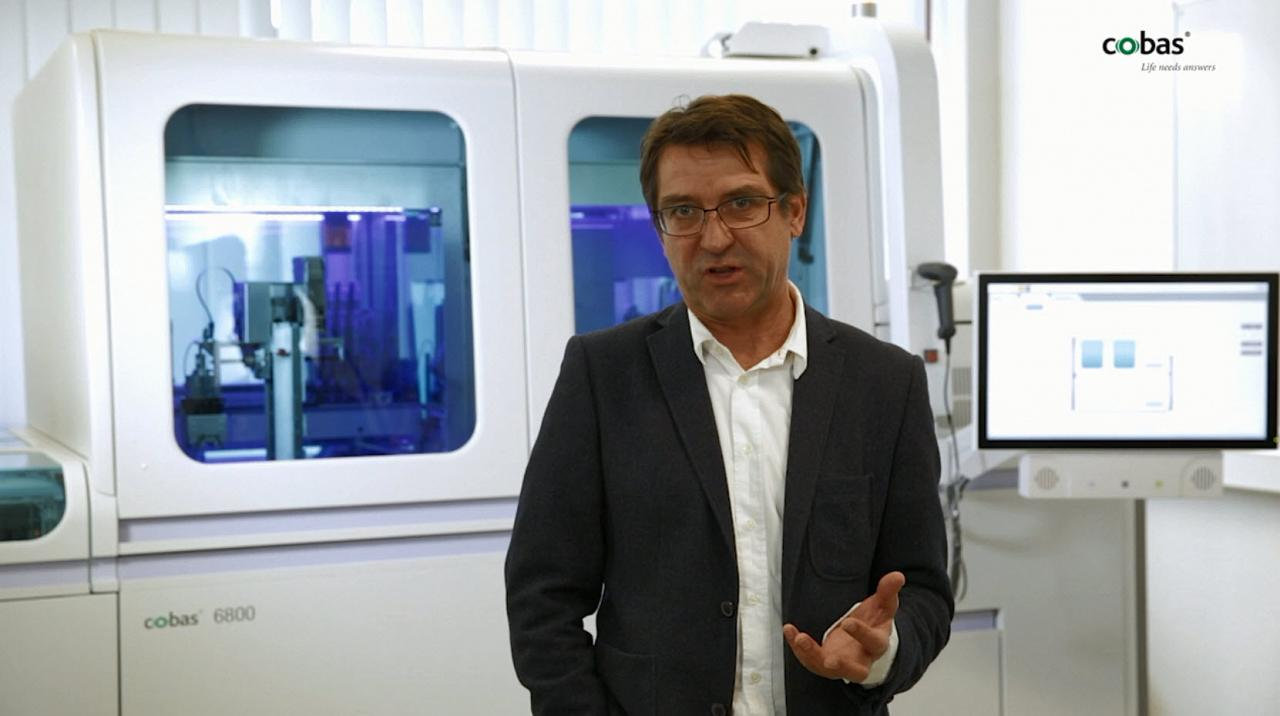 cobas® 6800 und cobas® 8800 Systeme, Dr. Peter Gohl