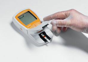 Accutrend® Plus System, 3. Messung