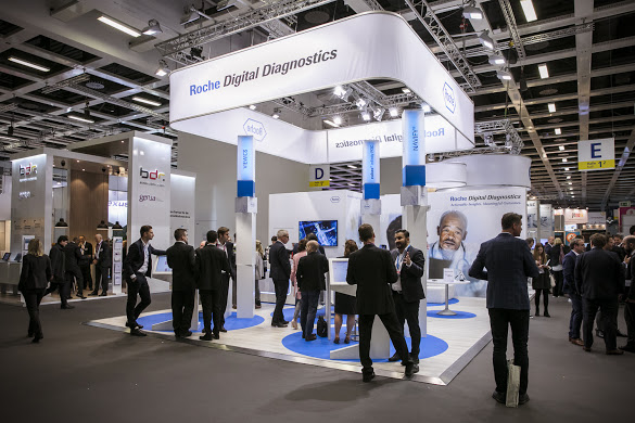 Roche Digital Diagnostics, Roche Digital Diagnostics, Impressionen von der DMEA 2019