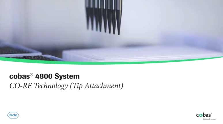 cobas® 4800 System, CO-RE Technology (Tip Attachment)