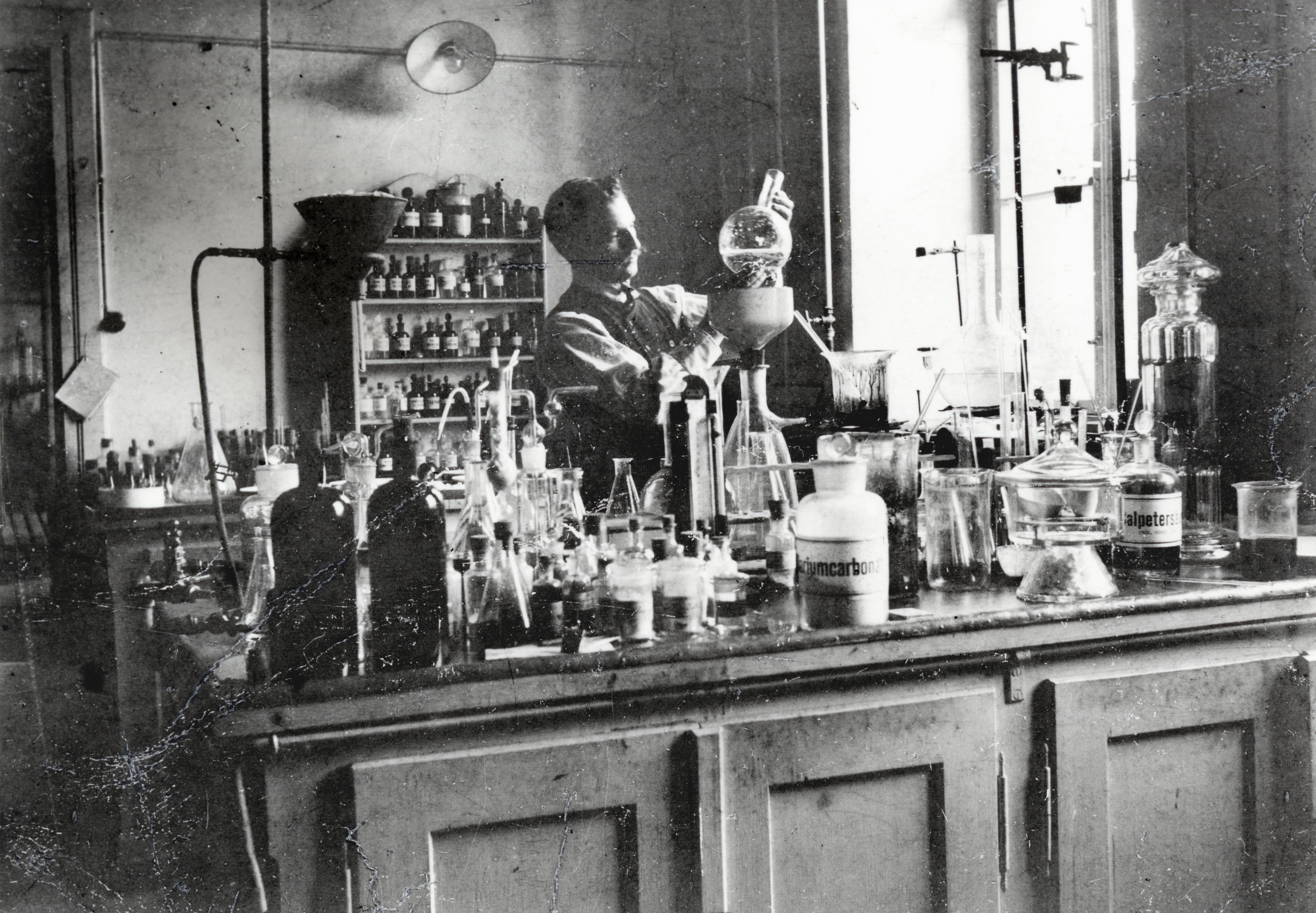 Vom Chemie-Labor zum Weltkonzern